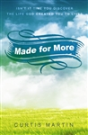 Made for More by Curtis Martin
